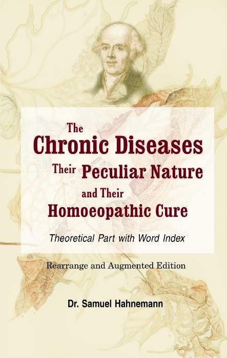 HOMEOPATHY BOOK -CHRONIC DISEASE(THEORY PART) - BY HAHNEMANN SAMUEL