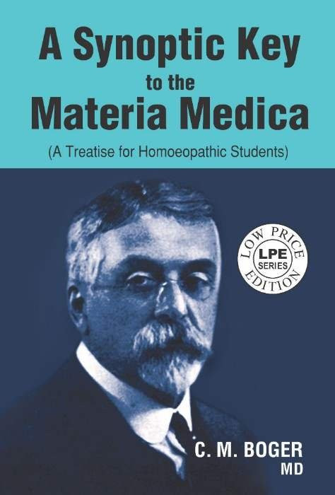 HOMEOPATHY BOOK -SYNOPTIC KEY TO M M(S.E.) - BY BOGER CM