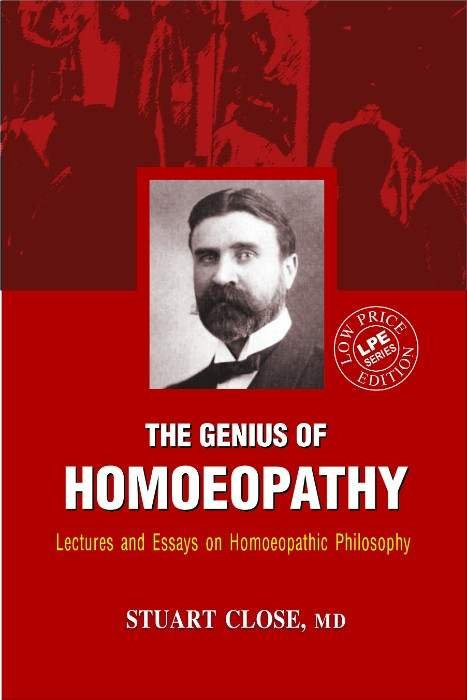 HOMEOPATHY BOOK -(ST.ED.)GENIUS OF HOMEOPATHY - BY CLOSE STUART