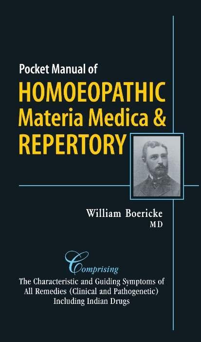 HOMEOPATHY BOOK -POCKET MANUAL OF HOM M M - BY BOERICKE WILLIAM