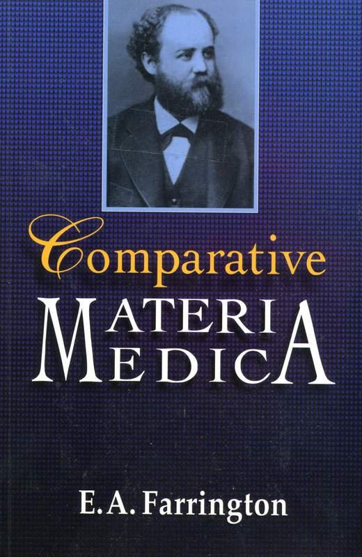 HOMEOPATHY BOOK -COMPERATIVE MAT.MED. - BY FARRINGTON EA