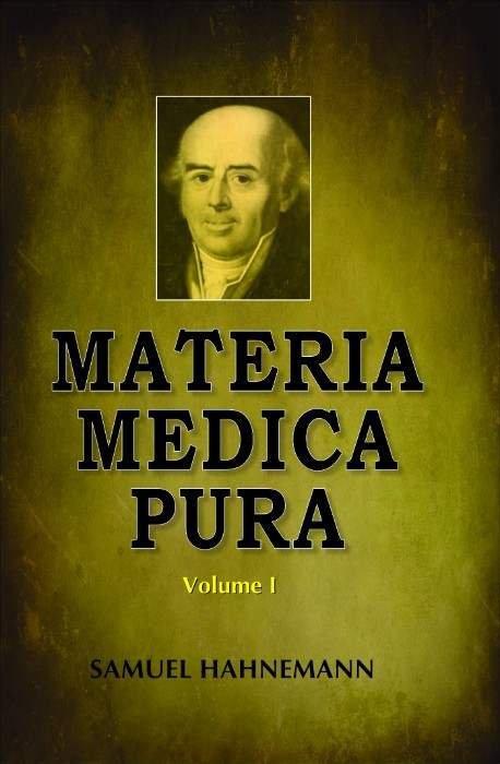 HOMEOPATHY BOOK -MATERIA MEDICA PURA 2 VOL SET - BY HAHNEMANN SAMUEL