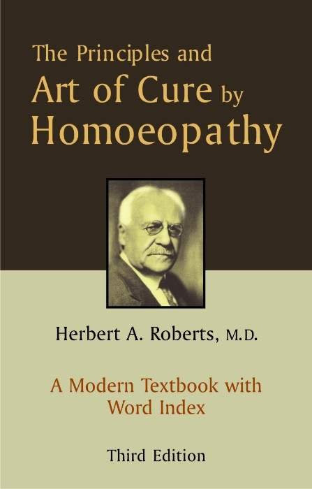 HOMEOPATHY BOOK -ART OF CURE BY HOMOEOPATHY - BY ROBERTS HERBERT