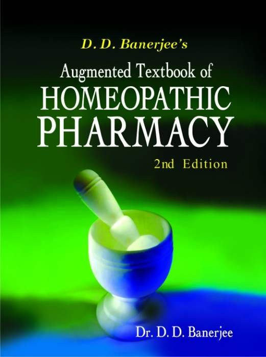 HOMEOPATHY BOOK -T B OF HOM.PHARMACY - BY BANERJEE DD
