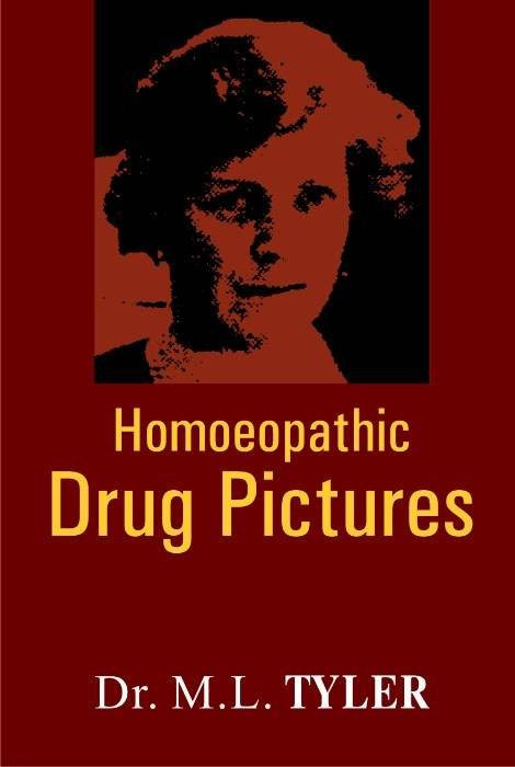 HOMEOPATHY BOOK -HOM. DRUG PICTURE - BY TYLER M L