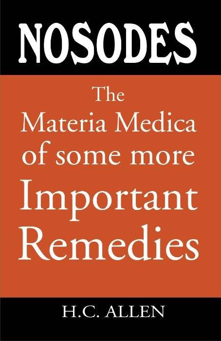HOMEOPATHY BOOK -M M OF SOME IMPORTANT NOSODES - BY ALLEN HC