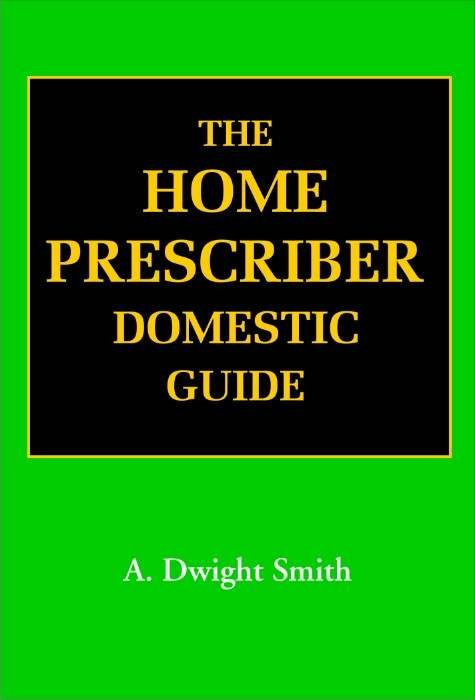 HOMEOPATHY BOOK -THE HOMOEO PRESCRIBER - BY SMITH A DWIGHT