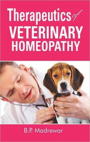 HOMEOPATHY BOOK -THERP OF VETERINARY HOMEO - BY MADREWAR BP