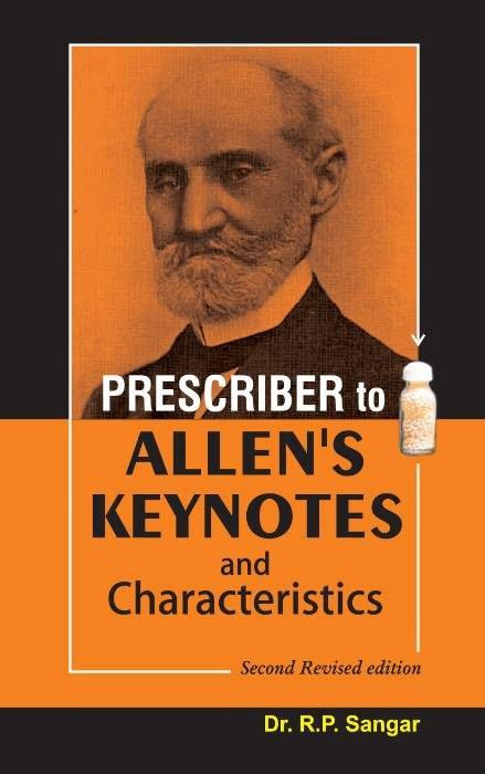 HOMEOPATHY BOOK -PRESCRIBER TO ALLENS KEY NOTE - BY ALLEN HC/SANGAR RP