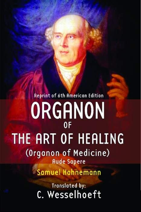 HOMEOPATHY BOOK -ORGANON OF THE ART OF HEALING - BY HAHNEMANN S/WEISSELHOF