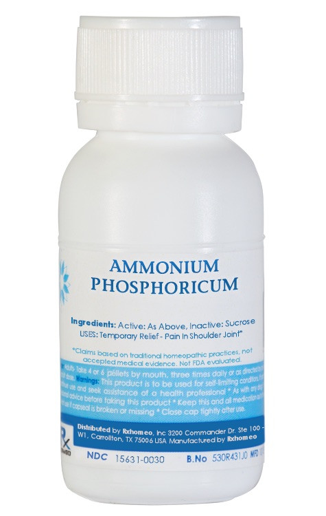 Ammonium Phosphoricum Homeopathic Remedy