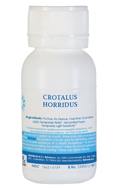 Crotalus Horridus Homeopathic Remedy