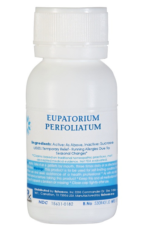 Eupatorium Perfoliatum Homeopathic Remedy
