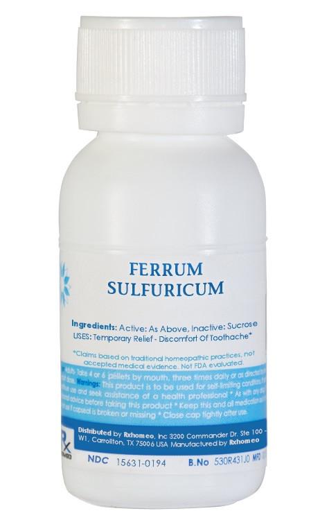 Ferrum Sulphuricum Homeopathic Remedy