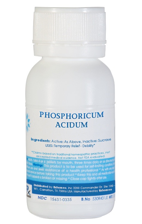 Phosphoricum Acidum Homeopathic Remedy