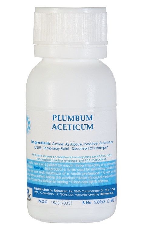 Plumbum Aceticum Homeopathic Remedy