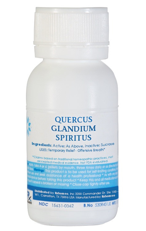 Quercus Glandium Spiritus Homeopathic Remedy