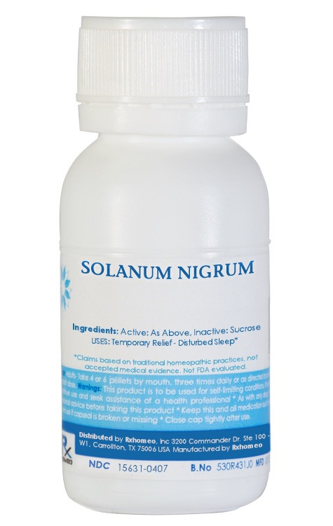 Solanum Nigrum Homeopathic Remedy