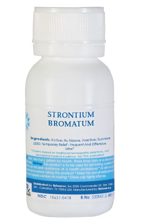Strontium Bromatum Homeopathic Remedy
