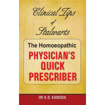 HOMEOPATHY BOOK -HOM PHYSICIANS QUICK PRESCRIBE - BY KANODIA KD