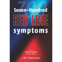 HOMEOPATHY BOOK -700 REDLINE SYMPTOMS - BY HUTCHISON JW