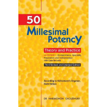 HOMEOPATHY BOOK -50 MILLESIMAL POTENCY IN THEOR - BY CHOUDHURY HARIMOHAN