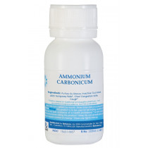 Ammonium Carbonicum Homeopathic Remedy
