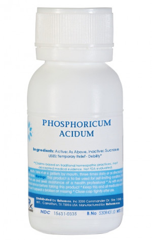 Phosphoricum Acidum Homeopathic Remedy