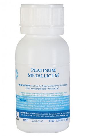 Platinum Metallicum Homeopathic Remedy