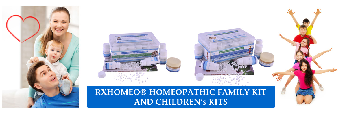 Click here for RXHOMEO® HOMEOPATHIC KITS